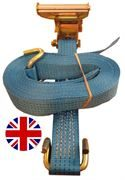 5 Tonne Ratchet Strap Rave Hook (Open Claw) UK Manufacture