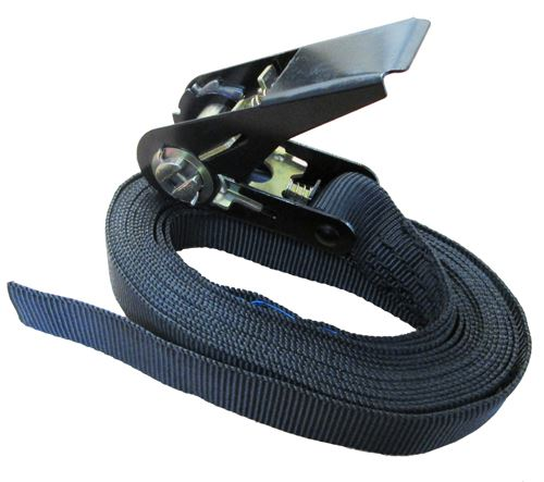 1 Tonne Black Endless Ratchet Strap 5 Metres (25mm wide)