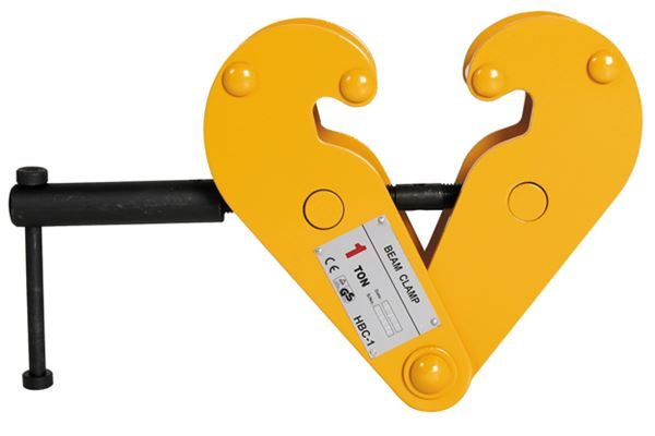 beam clamps yellow