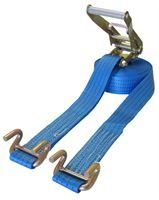 5T Ratchet Strap with Open Claw Rave Hooks