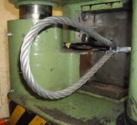 wire rope press web