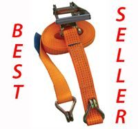 5 Tonne Ratchet Straps with Claw Hooks