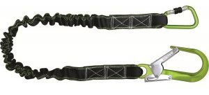 Shock Absorbing Expandable Lanyard