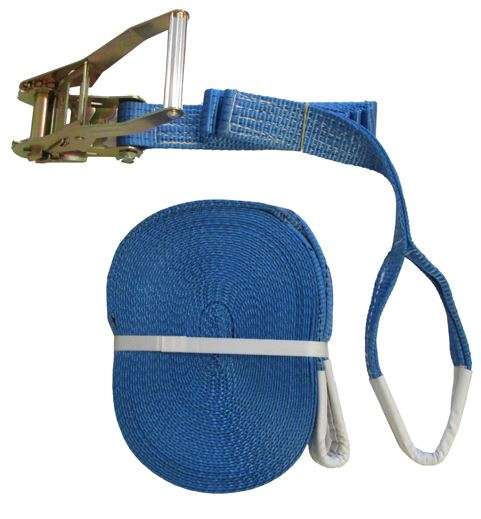 5 Tonne Ratchet Strap with Soft Eyes 20 Metres