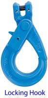 G100 chainsling clevis self locking hook
